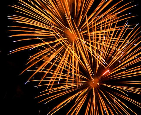 Philippines New Years Eve Fireworks Display