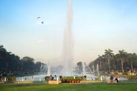 Rizal Park, aka Luneta Park, in Manila.