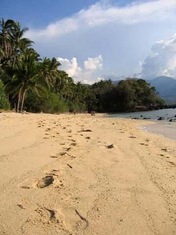 Sabang Beach in Puerta Galera Mindoro Philippines