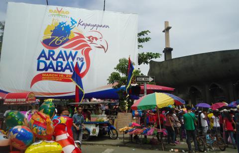 San Pedro Church during Araw ng Dabaw