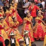 Sinulog Santo Nino Festival in Cebu City Philippines