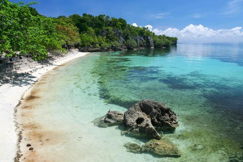 Siquijor Island Beach