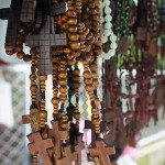 Rosary Beads at Stand in Philippines