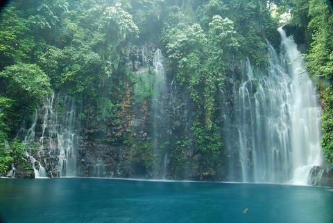 Tinago Falls in Iligan City, Lanao del Norte.