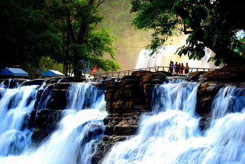 Breathtaking beauty of Tinuy-an Falls in Surigao del Sur, Philippines.