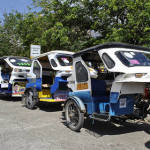 tricycles-at-puerto-princesa-airport