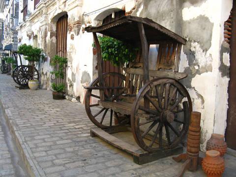 Historic city of Vigan, Philippines.