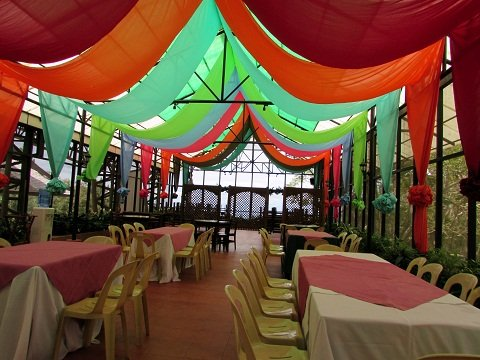Vista Restaurant's Interior