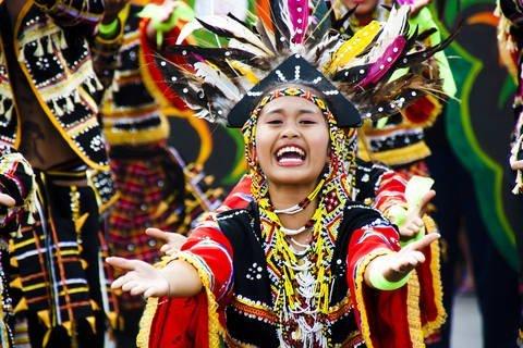 Kadayawan Festival in Davao City, Philippines.