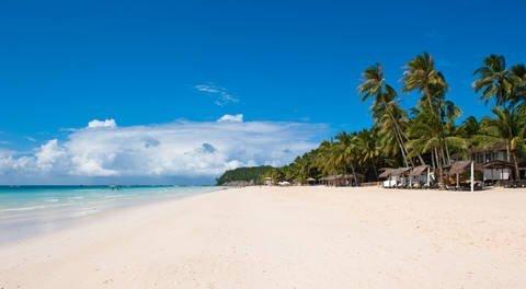 White Beach in Boracay Island