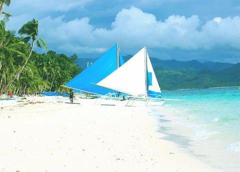 White Beach, Boracay Island.