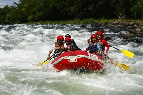 White water rafting in Cagayan de Oro.